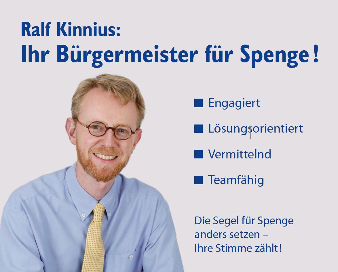 Ralf Kinnius - Ihr Bürgermeister für Spenge