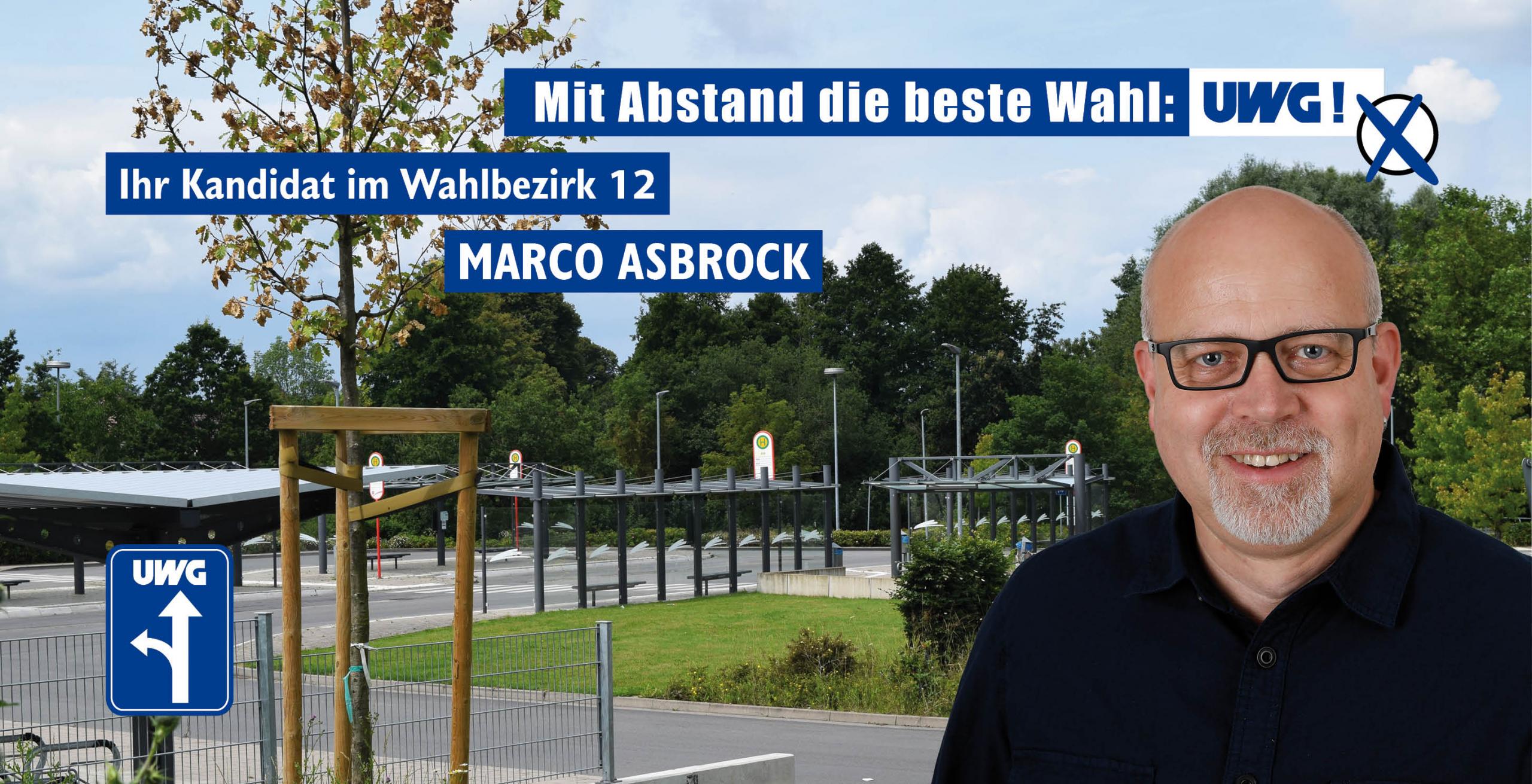 Kandidatenvorstellung Marco Asbrock