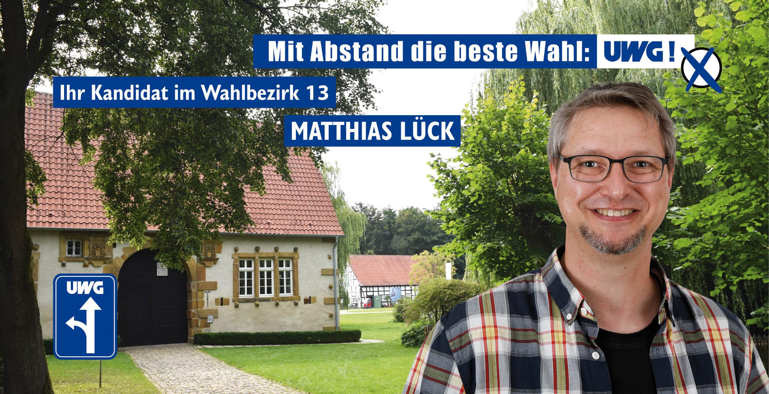 Kandidatenvorstellung Matthias Lück