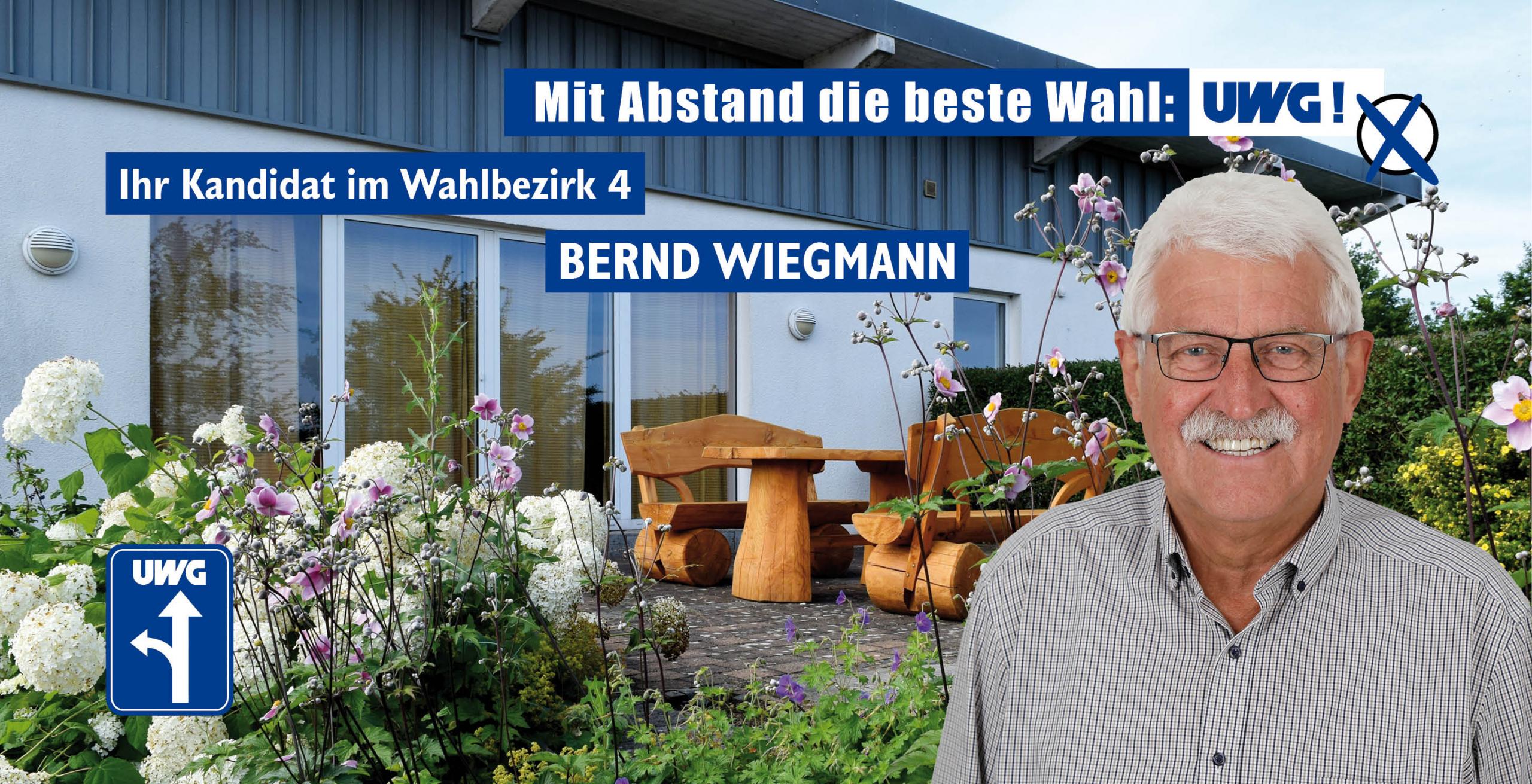 Kandidatenvorstellung Bernd Wiegmann